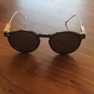 Spitfire round framed sunglasses